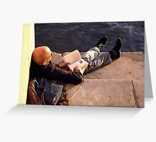 Just Chillin' Greeting Card