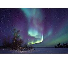 Aurora Borealis over Gordon Lake Photographic Print