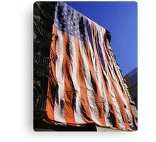 9 11 Flag Canvas Print