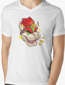 Happy Bowser Day! Mens V-Neck T-Shirt