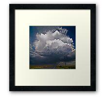 Oklahoma Thunderhead Framed Print