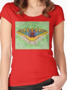 Butterfly Counts Moments Women's Fitted Scoop T-Shirt