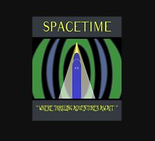 Visit Spacetime - Where Thrilling Adventures Await Unisex T-Shirt