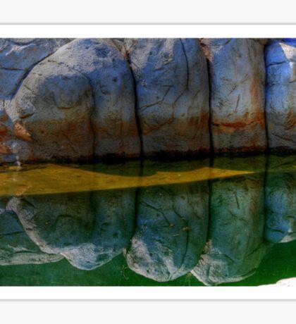 Granite reflections... Sticker
