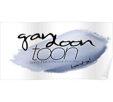 Gan Doon Toon - big blue Poster