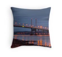 Kessock Bridge Inverness Throw Pillow