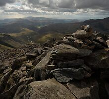 From the summit of Bowfell by Andy Stafford
