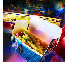 superdawg on a bun Photographic Print