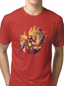 Smash Hype - Samus Tri-blend T-Shirt