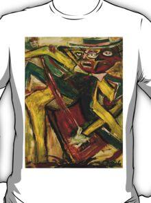 ABSTRACT GUITARIST 4 T-Shirt