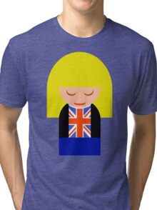 Rose Tyler Tri-blend T-Shirt