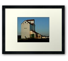 """Old Elevator...""""A Disappearing ICON"""" Framed Print"""