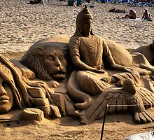 Sculpture in the Sand. by JacquiK