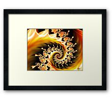 Heart's Flame Framed Print