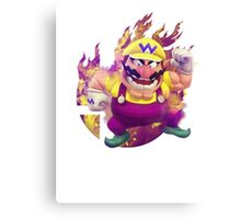 Smash Hype - Wario Canvas Print