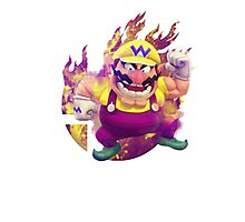Smash Hype - Wario Photographic Print