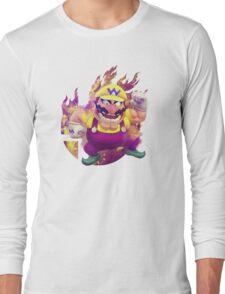 Smash Hype - Wario Long Sleeve T-Shirt