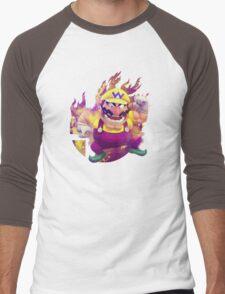 Smash Hype - Wario Men's Baseball ¾ T-Shirt