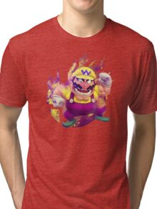 Smash Hype - Wario Tri-blend T-Shirt