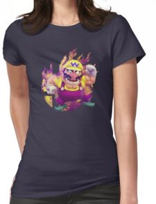 Smash Hype - Wario Womens Fitted T-Shirt