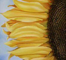 sunflower I by cathy savels