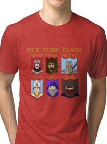 Pick Your Character Class Tri-blend T-Shirt