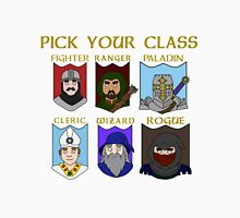 Pick Your Character Class Unisex T-Shirt