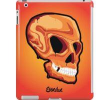 Orange Skull iPad Case/Skin