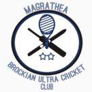 Magrathea Brockian Ultra Cricket Club by kmtnewsman