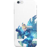 Smash Hype - Zero Suit Samus iPhone Case/Skin