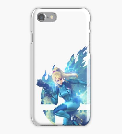 Smash Hype - Zero Suit Samus iPhone Case/Skin