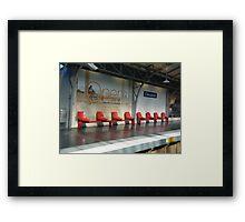 Waiting - 6 Framed Print