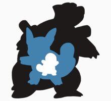 Squirtle-Wartortle-Blastoise Evolution Kids Clothes