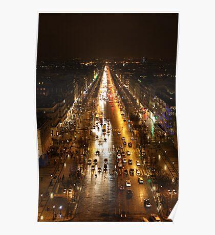 Rush Hour- Paris Poster