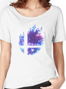 Smash Hype - Blue Women's Relaxed Fit T-Shirt