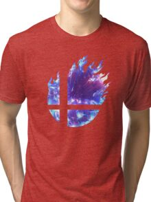 Smash Hype - Blue Tri-blend T-Shirt