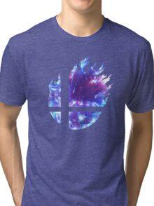 Smash Hype - Blue Tri-blend T-Shirt