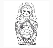 Russian Doll  Kids Clothes