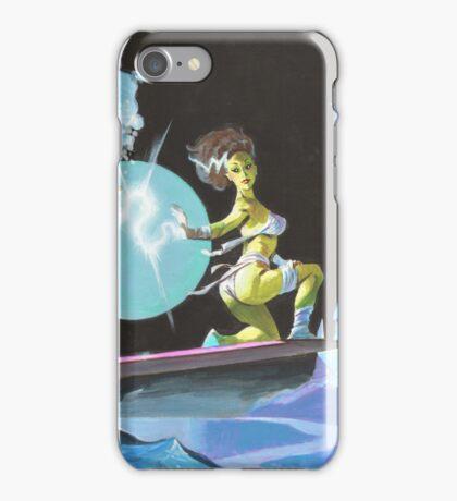 Frankenstein Surfers Tandem Monsters iPhone Case/Skin