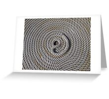 Re-Coil Greeting Card