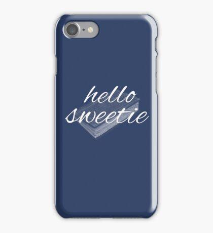 hello sweetie iPhone Case/Skin