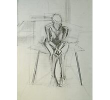 Sitting figure 2 Photographic Print