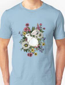 Rabbit in Flowers T-Shirt