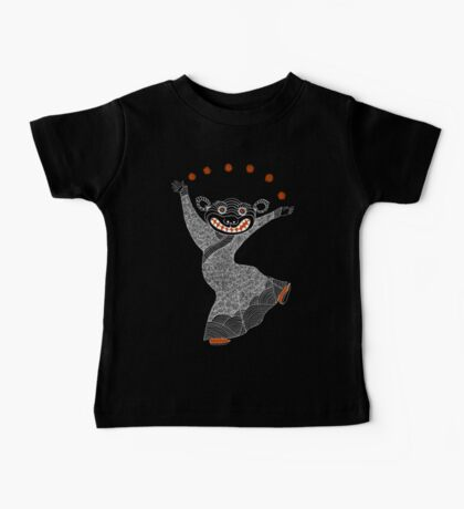 Ghost Tiger Juggler with Red Shoes Kids Clothes