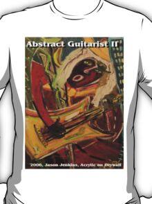 ABSTRACT GUITARIST II T-Shirt