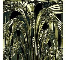 Art Nouveau Abstract  Photographic Print