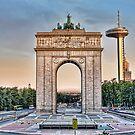 Arco de la Victoria, Madrid by Prashant Panigrahi