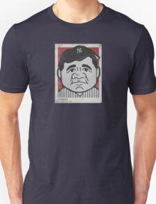 Babe Ruth Caricature Unisex T-Shirt