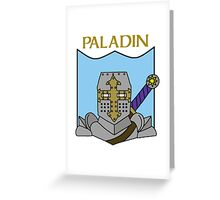 Percy the Paladin Greeting Card