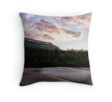 Summer's First Sunset Throw Pillow